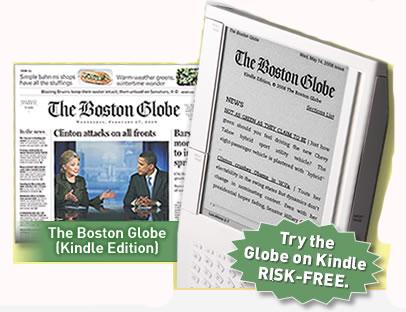 Kindle Edition - The Boston Globe